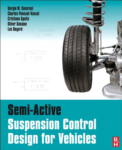 9780080966786: Semi-Active Suspension Control for Vehicles