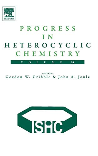 9780080968070: Progress in Heterocyclic Chemistry, Volume 24