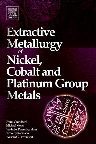 9780080968094: Extractive Metallurgy of Nickel, Cobalt and Platinum Group Metals