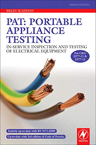 9780080969190: PAT: Portable Appliance Testing