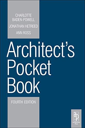 9780080969596: Architect's Pocket Book