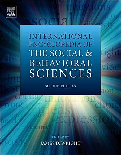 International Encyclopedia of the Social Behavioral Sciences (Hardback)