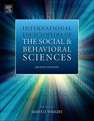 9780080970868: International Encyclopedia of the Social & Behavioral Sciences (Set of 26 Volumes) (26 Vols 7 Boxes)