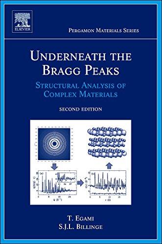 9780080971339: Underneath the Bragg Peaks: Structural Analysis of Complex Materials (Volume 16) (Pergamon Materials Series, Volume 16)