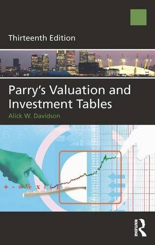 9780080971353: Parry's Valuation and Investment Tables