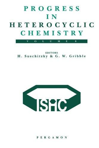 9780080971988: Progress in Heterocyclic Chemistry, Volume 8: A Critical Review of the 1995 Literature Preceded by two Chapters on Current Heterocyclic Topics