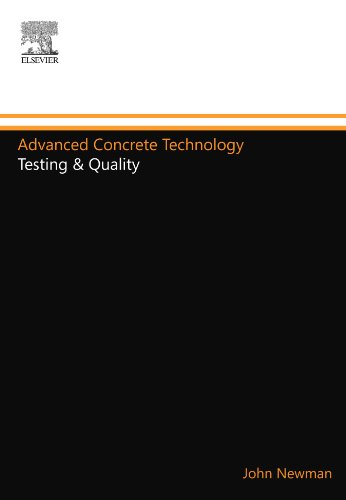 9780080972084: Advanced Concrete Technology: Testing & Quality