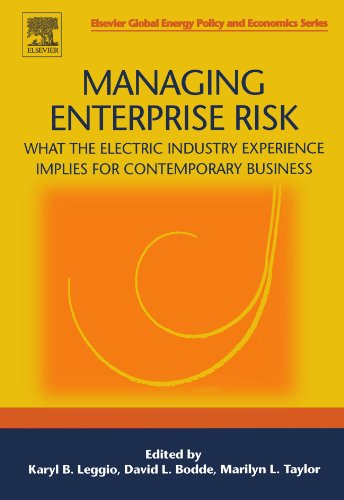 9780080972367: Managing Enterprise Risk: What the Electric Industry Experience Implies for Contemporary Business