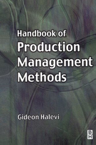 9780080972916: Handbook of Production Management Methods