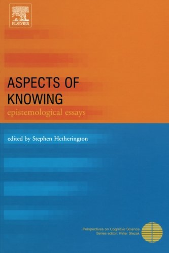 9780080973357: Aspects of Knowing