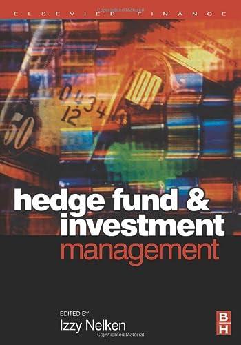 9780080973982: Hedge Fund Investment Management