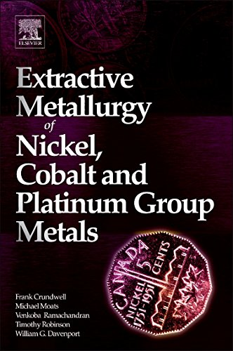 9780080974781: Extractive Metallurgy of Nickel, Cobalt and Platinum-Group Metals