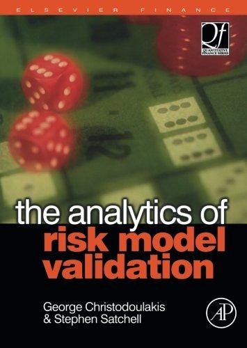 9780080976242: The Analytics of Risk Model Validation
