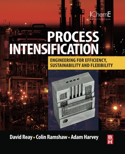 Process Intensification: Engineering for Efficiency, Sustainability and Flexibility: David Reay
