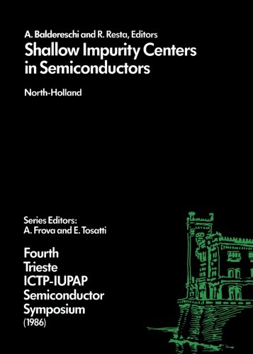 9780080978475: Shallow Impurity Centers in Semiconductors