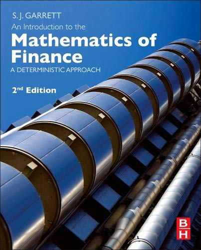 9780080982403: An Introduction to the Mathematics of Finance, Second Edition: A Deterministic Approach