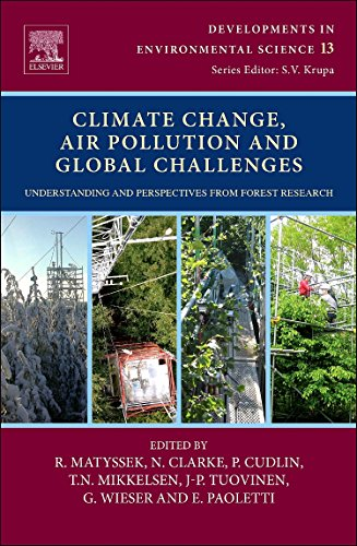 9780080983493: Climate Change, Air Pollution and Global Challenges: Knowledge, Understanding and Perspectives from Forest Research: 13 (Developments in Environmental Science)
