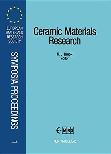 9780080983592: Ceramic Materials Research
