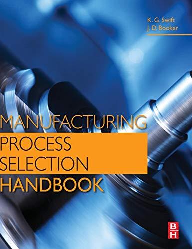9780080993607: Manufacturing Process Selection Handbook
