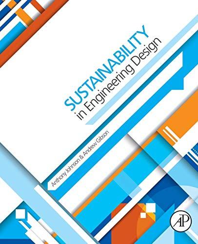 9780080993690: Sustainability in Engineering Design