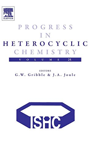 9780080994062: Progress in Heterocyclic Chemistry, Volume 25