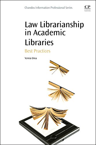 9780081001448: Law Librarianship in Academic Libraries: Best Practices