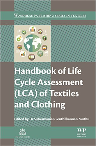 9780081001691: Handbook of Life Cycle Assessment (LCA) of Textiles and Clothing (Woodhead Publishing Series in Textiles)