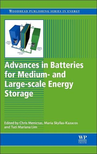 9780081014141: Advances in Batteries for Medium and Large-Scale Energy Storage: Types and Applications (Woodhead Publishing Series in Energy)