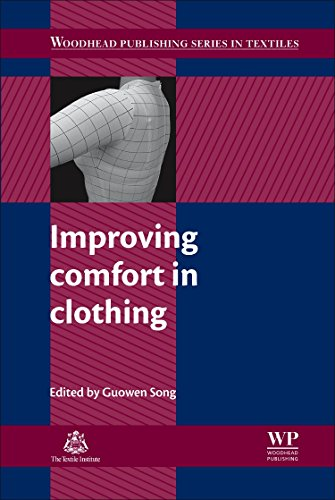 9780081014325: Improving Comfort in Clothing (Woodhead Publishing Series in Textiles)
