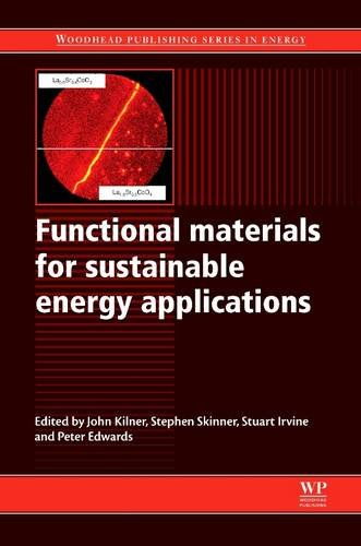 9780081016213: Functional Materials for Sustainable Energy Applications