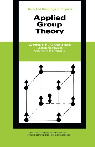 9780081031902: Applied Group Theory: The Commonwealth and International Library: Selected Readings in Physics