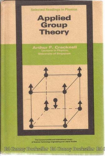 9780082031901: Applied group theory (The Commonwealth and international library. Selected readings in physics)