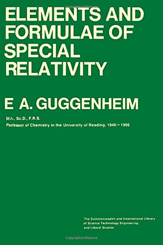 9780082035053: Elements and formulae of special relativity (Commonwealth and international library. Physics division)