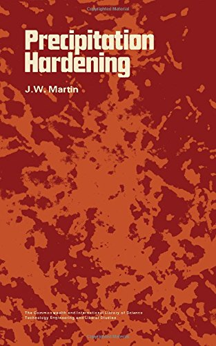 9780082036081: Precipitation Hardening (Commonwealth and international library. Selected readings in metallurgy)