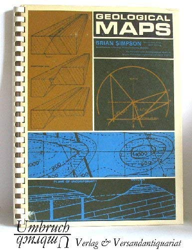 9780082037187: Geological maps (The Commonwealth and international library. Geology division)