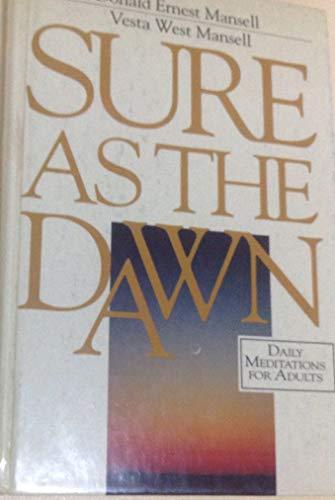 9780082800729: Sure As the Dawn