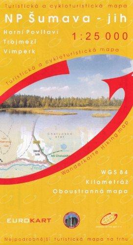 9780086782182: Bohemian Forest (Sumava) South 1:25,000 Hiking Map (Horní Povltaví, Tripoint, Vimperk)