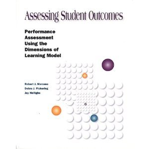9780087202252: Assessing student outcomes: Performance assessment using the dimensions of learning model