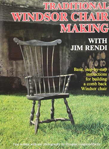 9780087405035: Traditional Windsor Chair Making With Jim Rendi