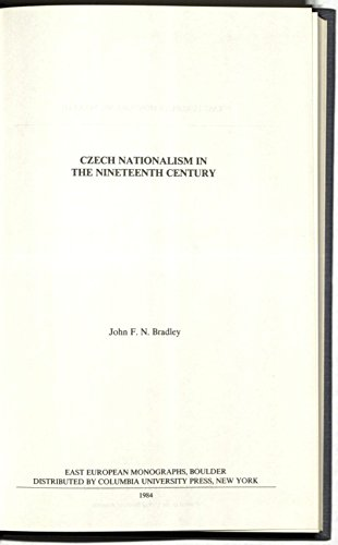 9780088033497: Czech Nationalism in The Nineteenth Century