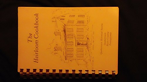 9780088443319: The Quakertown Historical Society Heirloom Cookbook