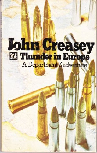 9780090011902: Thunder in Europe (Department Z adventures)