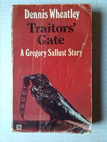 9780090031702: Traitor's Gate : a Gregory Sallust Story