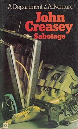 9780090041909: Sabotage (A Department Z adventure)