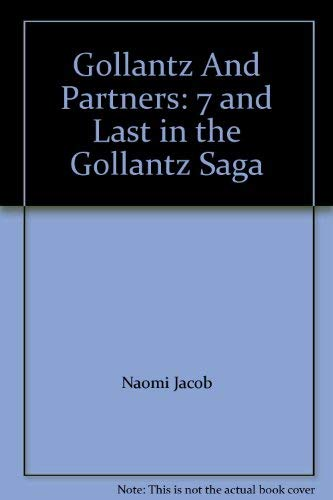 9780090049103: Gollantz and Partners (Gollantz saga / Naomi Jacob)