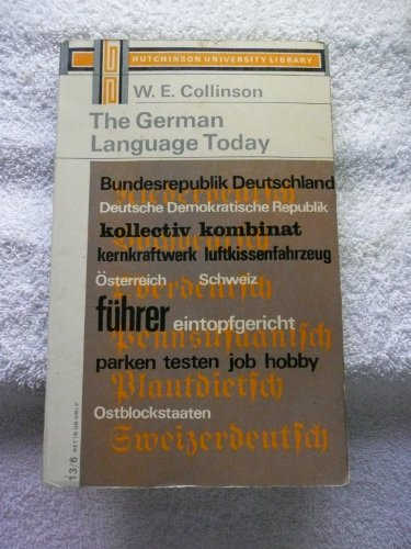 9780090286829: The German Language Today