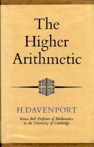 9780090306114: The higher arithmetic: An introduction to the theory of numbers (University library, mathematics)