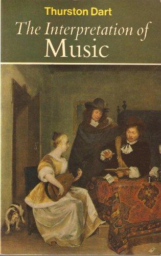 9780090316847: Interpretation of Music (University Library)