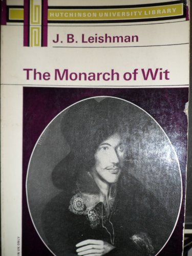 9780090359622: THE MONARCH OF WIT