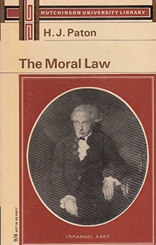 9780090360321: Moral Law (University Library)